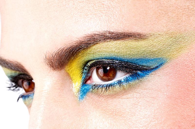 mondiali brasile make-up occhi