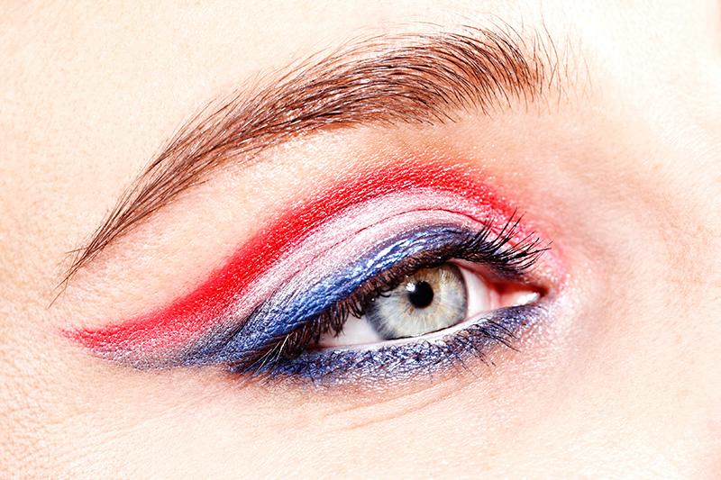 mondiali francia make up occhi