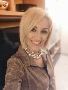 Mariarosaria Alfieri, psicologa e docente della scuola di estetica Sirio Aja