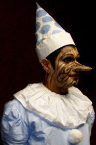 Corso di trucco teatrale Pinocchio - Scuola di estetica Napoli