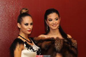 modelle per un giorno della sfilata make-up della Scuola di estetica Sirio Aja