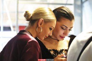 Scatti sfilata modelle per un giorno della Scuola di estetica Sirio Aja