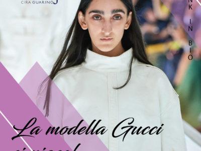 modella gucci