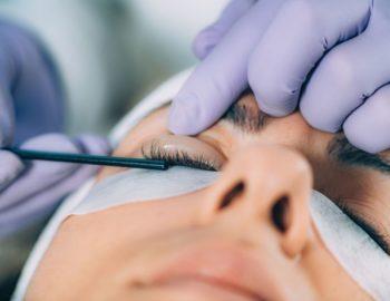 Corso laminazione ciglia Botox dell'accademia estetica Napoli Sirio Aja