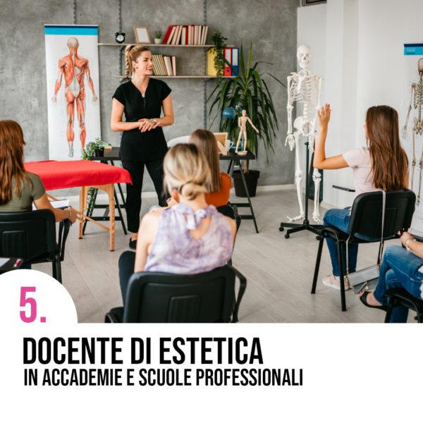Cosa puoi fare dopo la specializzazione di estetica?